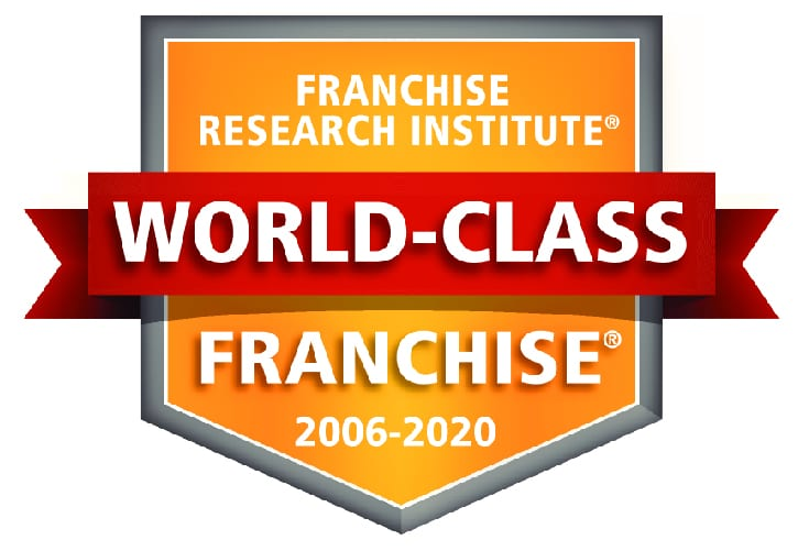 franchise research institute world class franchise badge for the years 2006 to 2020